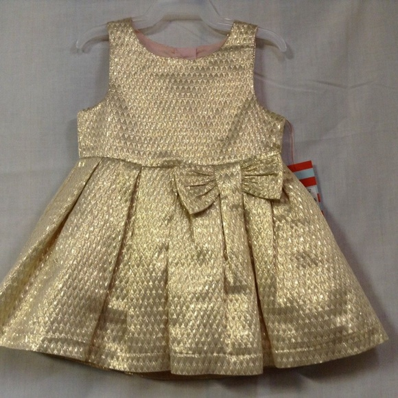 d742820896502 Cat & Jack Dresses | Cat Jack Toddler Girls A Line Gold Dress | Poshmark